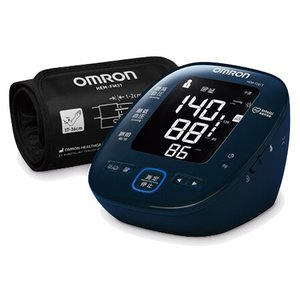 オムロン 上腕式血圧計 (ダークネイビー) OMRON HEM-7281T 返品種別A|joshin