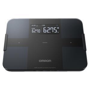 オムロン 体重体組成計 (ブラック) OMRON カラダスキャン HBF-255T-BK 返品種別A|joshin