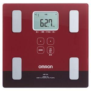 オムロン 体重体組成計 (レッド) OMRON カラダスキャン HBF-226-R 返品種別A|joshin