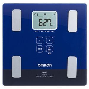 オムロン 体重体組成計 (ダークブルー) OMRON カラダスキャン HBF-226-DB 返品種別A|joshin