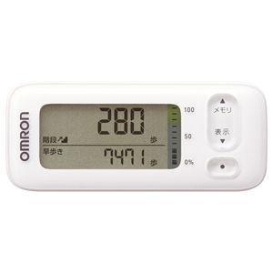 オムロン 活動量計 (ホワイト) OMRON カロリスキャン HJA-405T-W 返品種別A|joshin