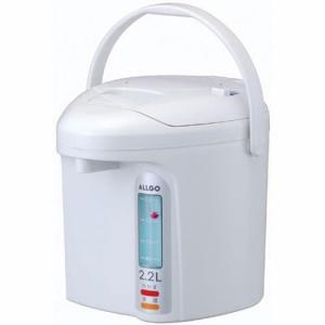 オルゴ 電気エアーポット(非沸とうタイプ) 3.0L セラミックホワイト ALLGO EAX-30-CW 返品種別A|joshin