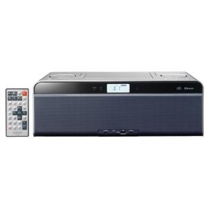 ケンウッド Bluetooth機能搭載USB対応CDラジオ(スレートブルー) KENWOOD CLX-50-L 返品種別A