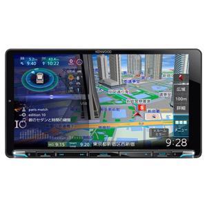 ケンウッド 9V型HDパネル 地上デジタルチューナー内蔵 ナビゲーションシステム KENWOOD 彩速ナビ MDV-M906HDL 返品種別A|joshin