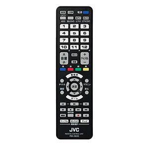 JVC 多機能リモコン(ブラック) RM-A633-B 返品種別A|joshin