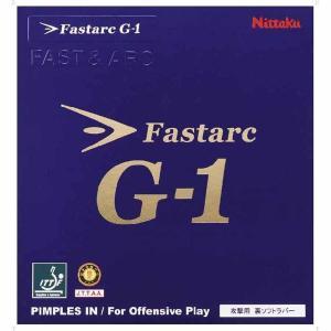 ニッタク 卓球ラバー(レッド・厚) Nittaku ファスターク G―1 NT-NR8702-20-A 返品種別A|joshin