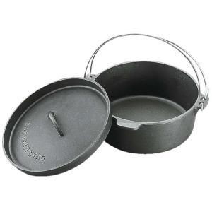 キャプテンスタッグ ダッチオーブン ビギナーセット(25cm) M-5541 返品種別A|joshin