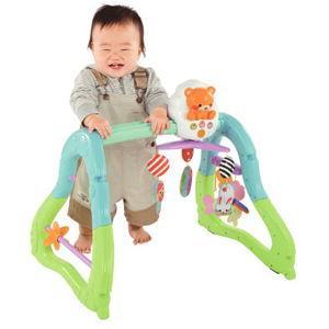 ピープル うちの赤ちゃん世界一 全身の知育メリー&ジム 返品種別B|joshin