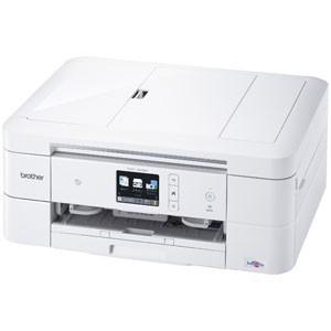 ブラザー A4プリント対応 インクジェット複合機(ホワイト) brother PRIVIO(プリビオ) DCP-J978N-W 返品種別A|joshin