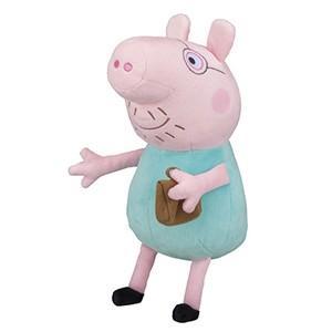 セガトイズ Peppa Pig なかよしフレンズ ぬいぐるみ ダディピッグ 返品種別B