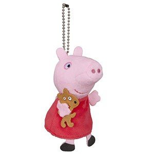 セガトイズ Peppa Pig なかよしフレンズ プチパペット ペッパピッグ 返品種別B