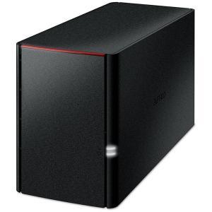 バッファロー ネットワーク対応ハードディスク 2.0TB(1.0TB×2) リンクステーション LS220DNBシリーズ LS220DN0202B 返品種別A joshin