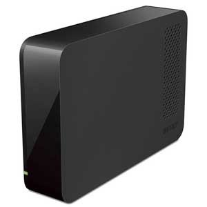 バッファロー USB3.1(Gen1)/ 3.0対応 外付けハードディスク 3.0TB テレビ/ レコーダーの録画用HDDとしても使える HD-LC3.0U3-BKF 返品種別A|joshin
