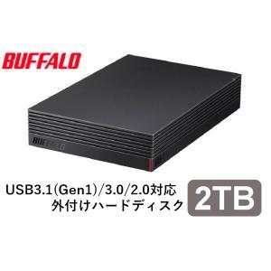 バッファロー パソコン&テレビ録画用外付けハードディスク 2.0TB USB3.1(Gen1)/ USB3.0用 外付けHDD BUFFALO HD-EDS-Aシリーズ HD-EDS2.0U3-BA 返品種別A