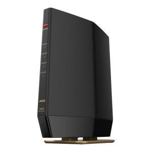 バッファロー 11ax(Wi-Fi 6)対応 無線LANルータ 親機(4803+573mbps)(マ...
