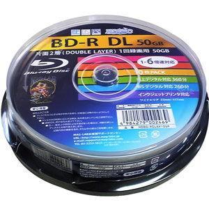 HIDISC 6倍速対応BD-R DL 10枚パ...の商品画像