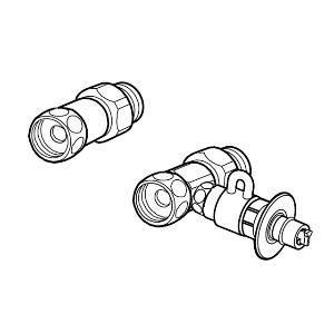 パナソニック 食器洗い乾燥機用分岐栓 Panasonic CB-S268A6 返品種別A|joshin