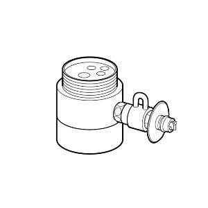 パナソニック 食器洗い乾燥機用分岐栓 Panasonic CB-SS6 返品種別A|joshin