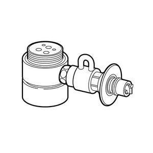 パナソニック 食器洗い乾燥機用分岐栓 Panasonic CB-SME6 返品種別A|joshin