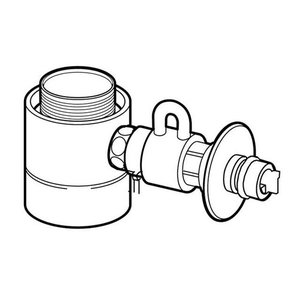 在庫状況:入荷次第出荷/◆シングル分岐水栓・タカギ用/[CBSTKA6]