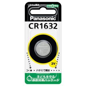 パナソニック リチウムコイン電池×1個 Panasonic CR1632 返品種別A|joshin