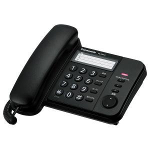 パナソニック 電話機 ブラック Panasonic Simple Telephone VE-F04-K 返品種別A