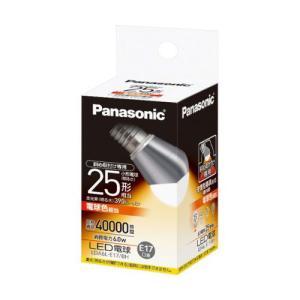 パナソニック LED電球 小形電球形 6.0W(電球色相当)(斜め取付け専用) Panasonic EVERLEDS(エバーレッズ) LDA6L-E17/ BH 返品種別A