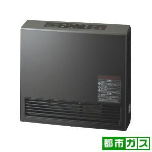 大阪ガス ガスファンヒーター(都市ガス13A用 木造15畳/ コンクリート21畳 ピアノブラック) (暖房器具)OSAKA GAS eco model 140-9395-13A 返品種別A|joshin