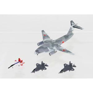 ピットロード 1/ 700 自衛隊航空機セット1 (X-2、F-35A、F-35B×各4機、C-2×2機入り)(S45)プラモデル 返品種別B