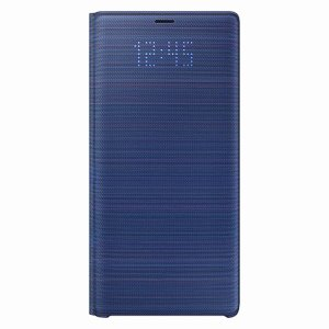 サムスン Galaxy Note9(SC-01L/ SCV40)用 LED View Cover(ブルー) SAMSUNG EF-NN960PLEGJP 返品種別A joshin