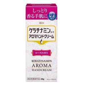 興和 ケラチナミンコーワ アロマハンドクリーム ローズの香り 30g  返品種別B|joshin