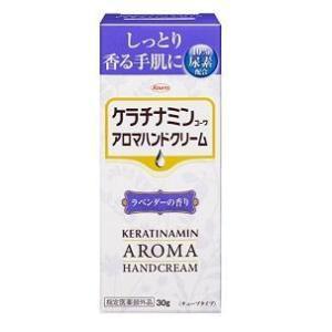 興和 ケラチナミンコーワ アロマハンドクリーム ラベンダーの香り 30g  返品種別B|joshin