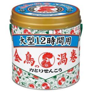 金鳥の渦巻 大型 12時間用 40巻(缶) 大日本除虫菊 キンチヨウコウ ダイ12ジカン40 返品種別A|joshin