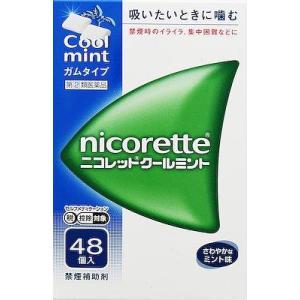 (第(2)類医薬品) 武田薬品工業 ニコレットクールミント 48個 ◆セルフメディケーション税制対象商品 返品種別B joshin