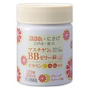 (第3類医薬品) 日本臓器製薬 マスチゲンBBゼリー錠 120錠  返品種別B|joshin
