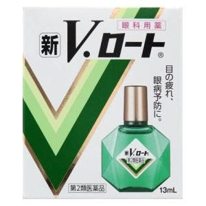 (第2類医薬品) ロート製薬 新V・ロート 13ml  返品種別B|joshin