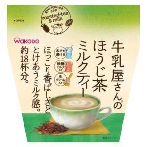 和光堂 牛乳屋さんのほうじ茶ミルクティー 200g アサヒグループ食品 ギユウニユウヤサンノホウジ200G 返品種別B|joshin