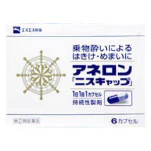 (第(2)類医薬品) エスエス製薬 アネロン「ニスキャップ」 6cp  返品種別B|joshin