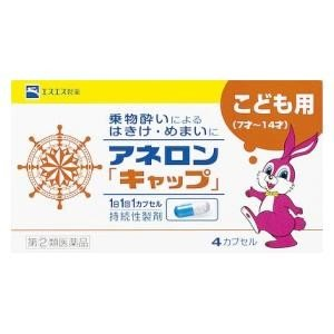 (第(2)類医薬品) エスエス製薬 アネロン「キャップ」 4cp  返品種別B|joshin