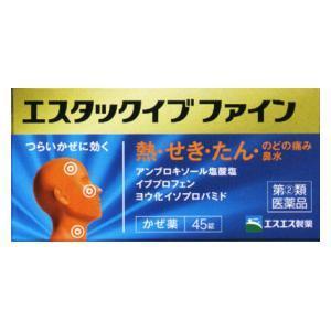 (第(2)類医薬品) エスエス製薬 エスタックイブファイン 45錠 ◆セルフメディケーション税制対象商品 返品種別B joshin