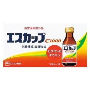 エスエス製薬 エスカップC1000(100ml×10本)  返品種別B|joshin