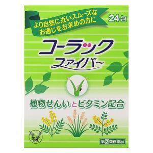 (第(2)類医薬品) 大正製薬 コーラックファイバー 24包  返品種別B|joshin
