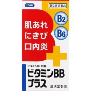 (第3類医薬品) 皇漢堂製薬 ビタミンBBプラス「クニヒロ」 250錠  返品種別B|joshin