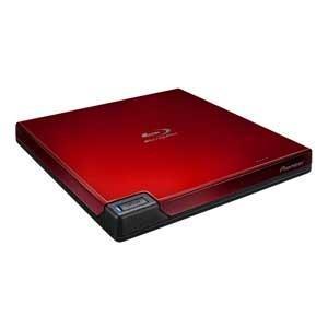 パイオニア USB3.0対応 ポータブルBDドライブ(レッド) BDR-XD07R 返品種別A