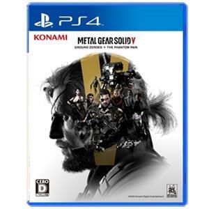 コナミデジタルエンタテインメント (PS4)METAL GEAR SOLID V: GROUND ZEROES + THE PHANTOM PAIN グラウンド ゼロズ ファントム ペイン 返品種別B joshin