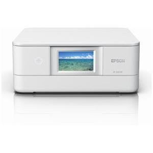 エプソン A4プリント対応 インクジェット複合機(ホワイト) EPSON Colorio(カラリオ) EP-881AW 返品種別A|joshin