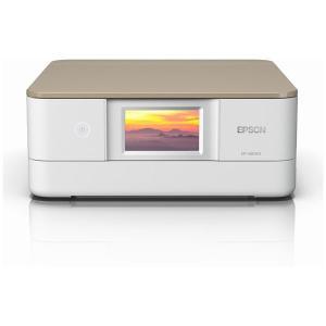 エプソン A4プリント対応 インクジェット複合機(ニュートラルベージュ) EPSON Colorio(カラリオ) EP-881AN 返品種別A|joshin