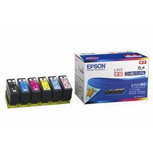 エプソン 純正インクカートリッジ(6色セット・増量) EPSON カメ KAM-6CL-L 返品種別A|Joshin web