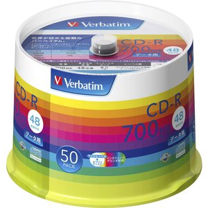 バーベイタム データ用48倍速対応CD-R 5...の関連商品1