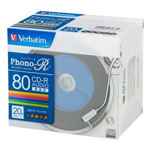 バーベイタム 音楽用CD-R80分20枚パック MUR80PHS20V1 返品種別A